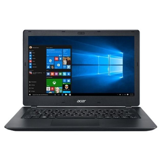 Ноутбук Acer TravelMate TMP238-M-501P Core i5 6200U/4Gb/SSD128Gb/Intel HD Graphics 520/13.3/HD (1920x1080)/Windows 10 Professional/black/WiFi/BT/Cam/3270mAh