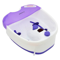 Гидромассажная ванночка для ног Polaris PMB1006 110Вт белый/фиолетовый