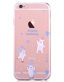 Накладка Devia Vango Soft Case iPhone 6/6s ice bear (Цвет: Clear)