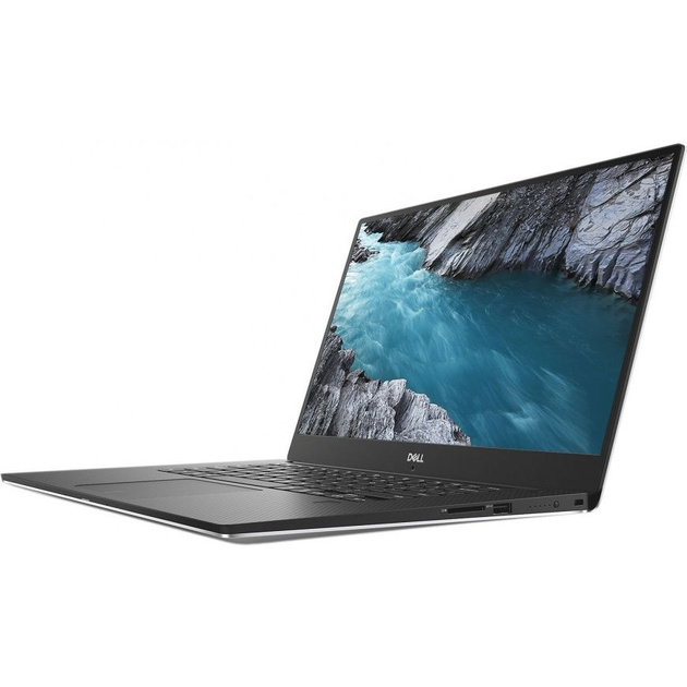 Ноутбук Dell XPS 15 Core i9 8950HK/32Gb/SSD1Tb/nVidia GeForce GTX 1050Ti 4Gb/15.6/IPS/Touch/UHD (3840x2160)/Windows 10 Professional 64/silver/WiFi/BT/Cam