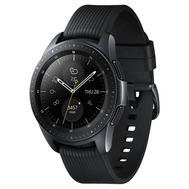 Умные часы Samsung Galaxy Watch 42mm (Цвет: Midnight Black)