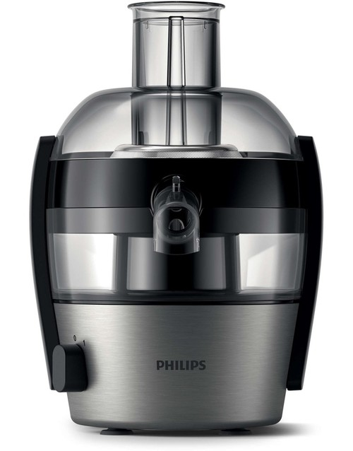 Соковыжималка Philips Viva Collection HR1836 / 00 (Цвет: Black / Inox)