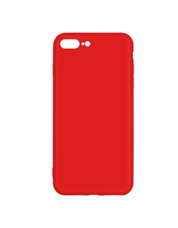Чехол-накладка Pero Soft Touch для смартфона iPhone 7 Plus/8 Plus (Цвет: Red)