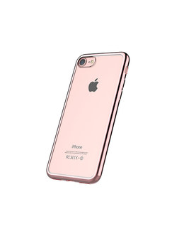 Чехол-накладка Devia Glitter Soft Case iPhone 7/8 (Цвет: Rose gold)