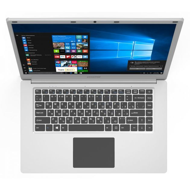 Ноутбук Digma EVE 604 Atom X5 Z8350/2Gb/SSD32Gb/Intel HD Graphics 400/15.6