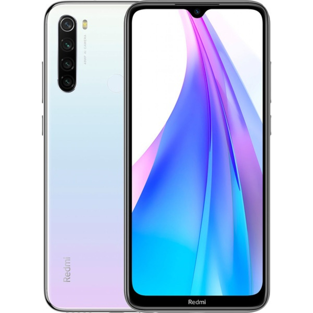 Смартфон Xiaomi Redmi Note 8T 4/64Gb RU (Цвет: Moonlight White)
