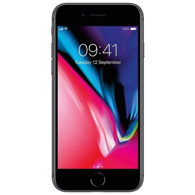Смартфон Apple iPhone 8 64Gb MQ6G2RU/A (Цвет: Space Gray)
