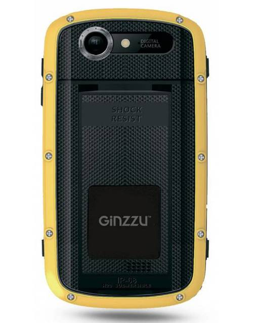 Смартфон Ginzzu RS71D 8Gb (Цвет: Black/Orange)