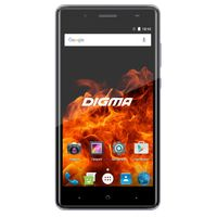 Смартфон Digma VOX Fire 4G 8Gb (Цвет: Gray)