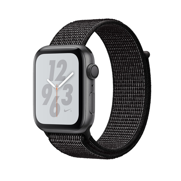 Умные часы Apple Watch Series 4 GPS 40mm Aluminum Case with Nike Sport Loop (Цвет: Space Gray/Black)