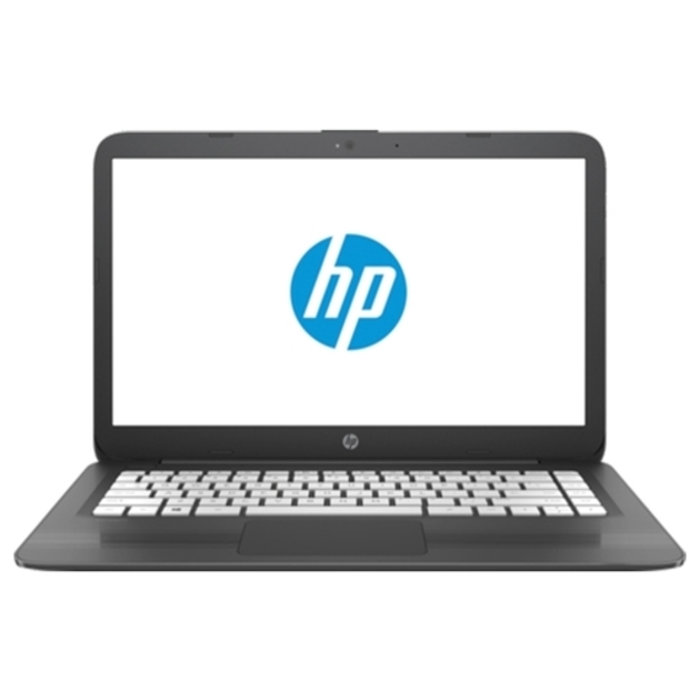 Ноутбук HP Stream 14-ax018ur Celeron N3060/4Gb/eMMC32Gb/Intel HD Graphics 400/14/HD (1366x768)/Windows 10 64/grey/WiFi/BT/Cam
