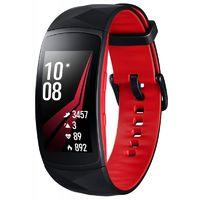 Фитнес-браслет Samsung Galaxy Gear Fit 2 Pro, размер S (Цвет: Black/Red)
