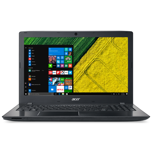 Ноутбук Acer Aspire A315-51-39X0 Core i3 7020U/4Gb/SSD128Gb/Intel HD Graphics 620/15.6/HD (1366x768)/Linux/black/WiFi/BT/Cam