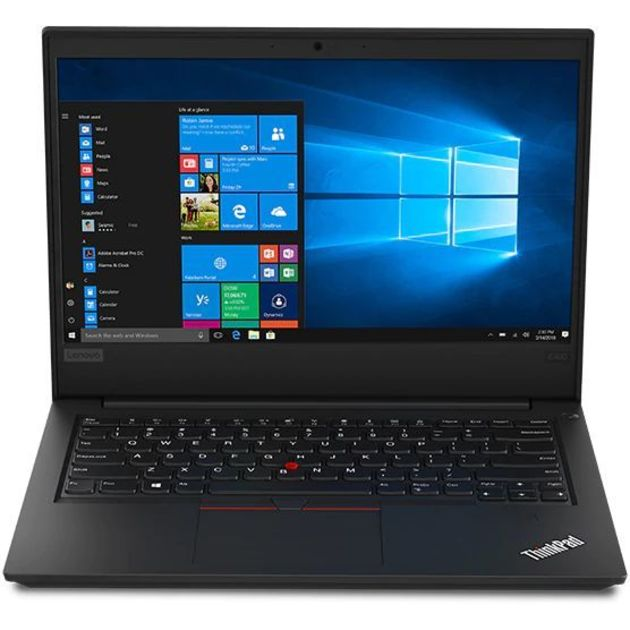 Ноутбук Lenovo ThinkPad E490 Core i5 8265U/8Gb/1Tb/Intel UHD Graphics 620/14/IPS/FHD (1920x1080)/Free DOS/black/WiFi/BT/Cam
