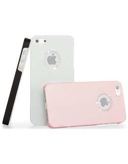 Чехол-накладка Wynit Diamond Crystal iPhone 5/5s/SE (Цвет: Pink)