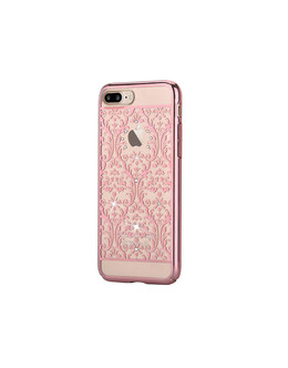 Чехол-накладка Devia Crystal Baroque для смартфона iPhone 7 Plus/8 Plus (Цвет: Rose Gold)