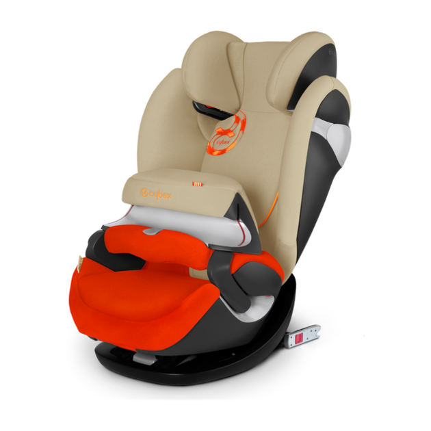 Автокресло Cybex Pallas M-Fix (Цвет: Autumn Gold-Burnt Red)