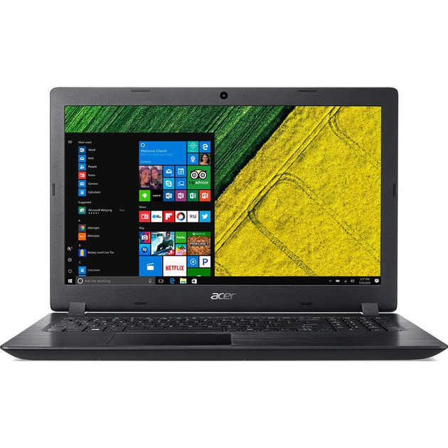 Ноутбук Acer Aspire A315-51-57JH Core i5 7200U/4Gb/SSD128Gb/Intel HD Graphics 620/15.6/HD (1366x768)/Windows 10 Home/black/WiFi/BT/Cam