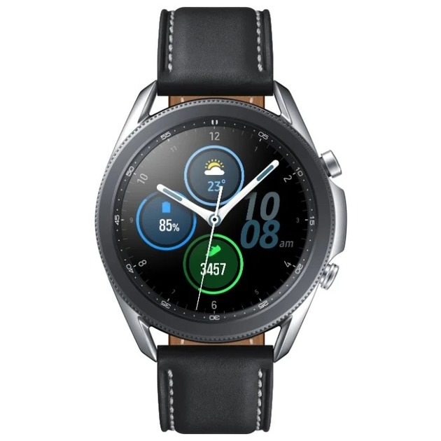 Умные часы Samsung Galaxy Watch 3 45mm рст (Цвет: Silver)