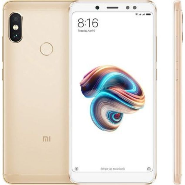 Смартфон Xiaomi Redmi Note 5 3/32Gb (Цвет: Gold)