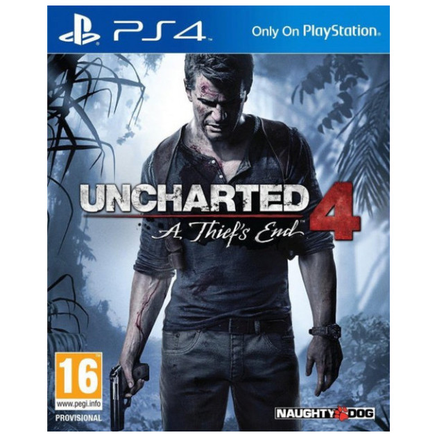 Игра Uncharted 4: A Thief's End для Sony PlayStation 4
