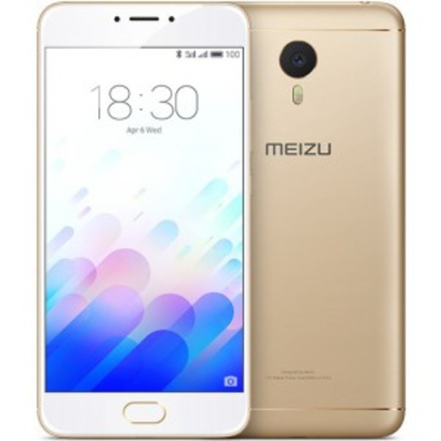Смартфон Meizu M3 Note 32Gb (Цвет: Gold)