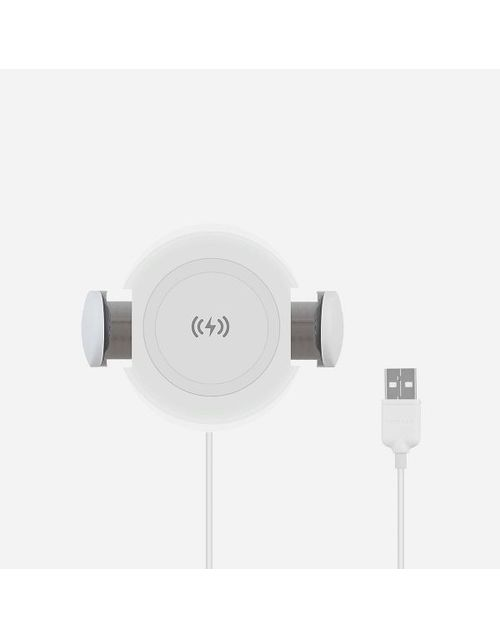 АЗУ Momax Wireless Car Charger white