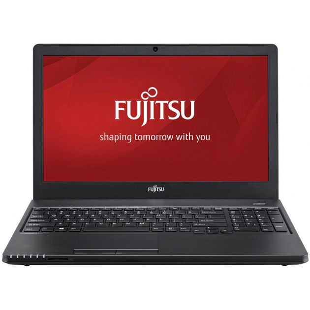 Ноутбук Fujitsu LifeBook A357 Core i5 7200U/4Gb/SSD256Gb/DVD-RW/Intel HD Graphics 620/15.6/HD (1920x1080)/noOS/black/WiFi/BT/Cam