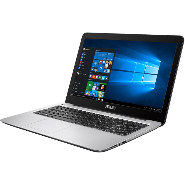 Ноутбук ASUS X543UB-DM1277T 15.6(1920x1080)/Intel Core i3 7020U(2.3Ghz)/4096Mb/128SSDGb/noDVD/Ext:nVidia GeForce MX110(2048Mb)/Cam/BT/WiFi/war 1y/1.9kg/GREY/W10