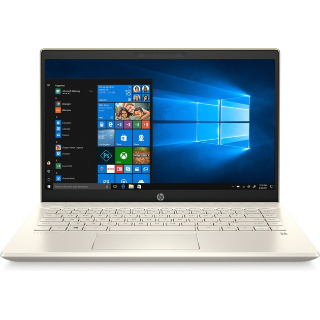 Ноутбук HP 14-ce2002ur Core i3 8145U/4Gb/SSD128Gb/Intel UHD Graphics 620/14/IPS/FHD (1920x1080)/Windows 10/gold/WiFi/BT/Cam