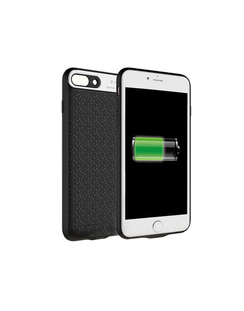 АКБ-накладка Devia Rechargeable Battery Case Extra Power 3650mAh iPhone 7 Plus (Цвет: Black)