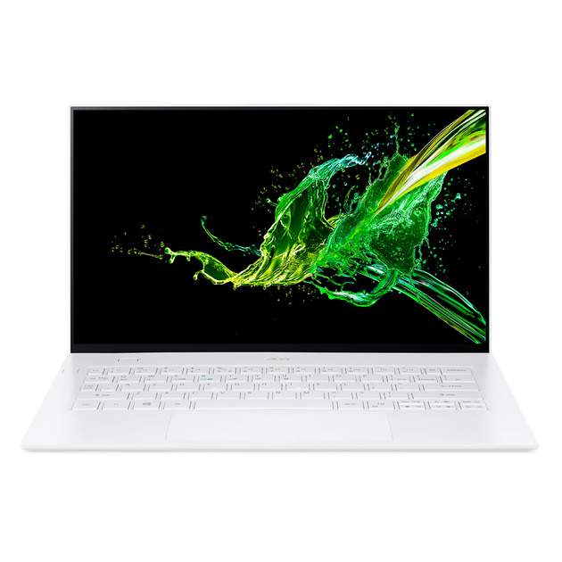 Ультрабук Acer Swift 7 SF714-52T-76X9 Core i7 8500Y/16Gb/SSD512Gb/Intel UHD Graphics 615/14/IPS/Touch/FHD (1920x1080)/Windows 10 Professional/white/WiFi/BT/Cam/2770mAh