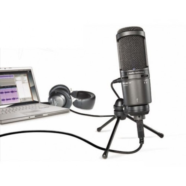 Микрофон Audio Technica AT2020USB+