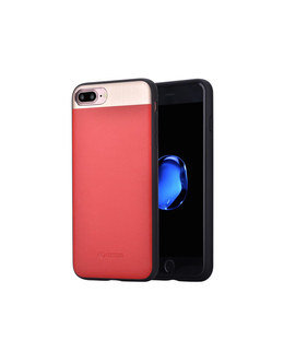 Чехол-накладка Comma Vivid Leather Case для смартфона iPhone 7 Plus/8 Plus (Цвет: Red)