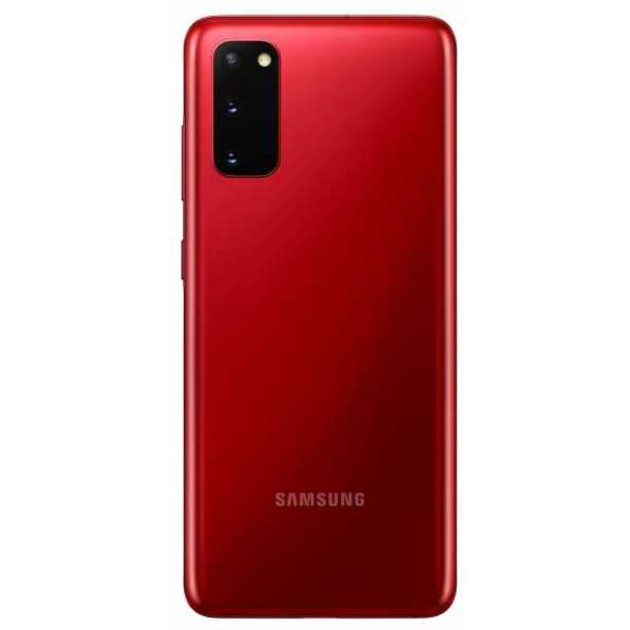 Смартфон Samsung Galaxy S20 SM-G980F/DS 8/128Gb (Цвет: Aura Red)