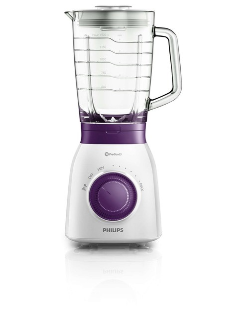 Блендер стационарный Philips Viva Collection HR2173 / 00 (Цвет: White / Purple)