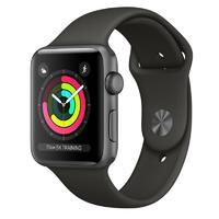 Умные часы Apple Watch Series 3 42mm Aluminum Case with Sport Band (Цвет: Space Gray/Gray)