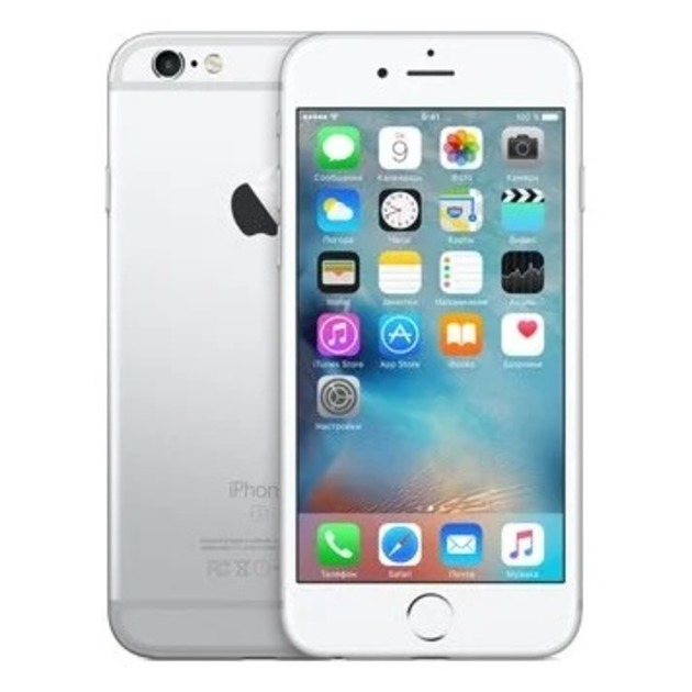 Смартфон Apple iPhone 6s 32Gb MN0X2RU/A (Цвет: Silver)