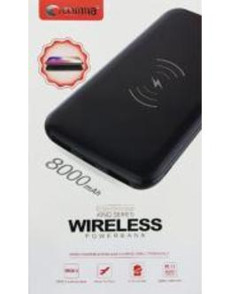 Внешняя батарея Comma King Series Wireless Power Bank (8000mAh)  (Цвет: Black)