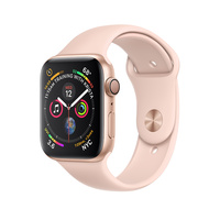 Умные часы Apple Watch Series 4 GPS 40mm Aluminum Case with Sport Band (Цвет: Gold/Pink Sand)