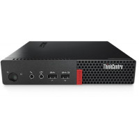 ПК Lenovo ThinkCentre M710q TINY slim i5 7400T/8Gb/SSD256Gb/HDG/Windows 10 Professional 64/WiFi/BT/клавиатура/мышь/черный
