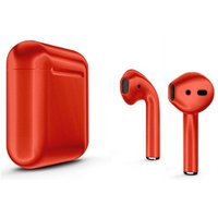 Наушники Apple AirPods Color (Цвет: Глянцевый красный)