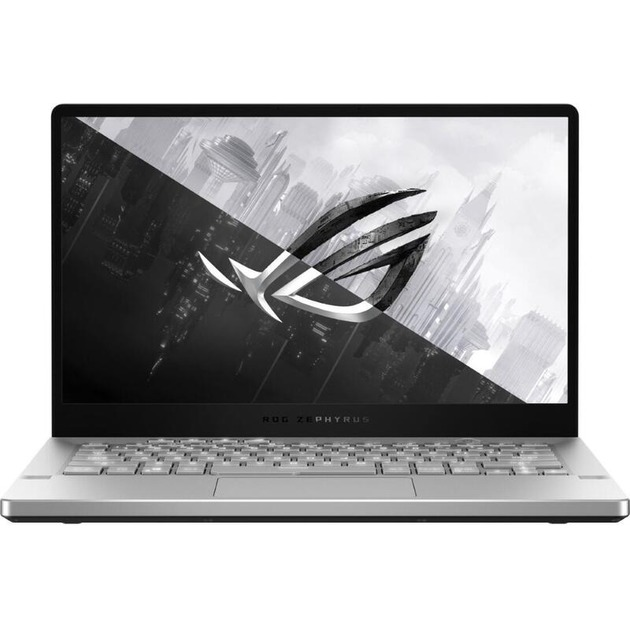 Ноутбук Asus ROG GA401IH-HE069 Ryzen 5 4600H/8Gb/SSD512Gb/nVidia GeForce GTX 1650 4Gb/14/FHD (1920x1080)/noOS/grey/WiFi/BT/Cam/Bag