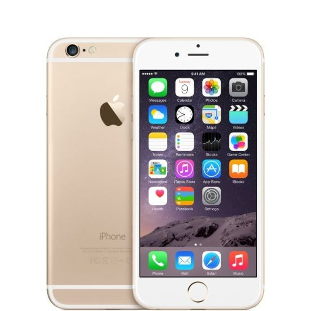 Смартфон Apple iPhone 6 32Gb MQ3E2RU/A (Цвет: Gold)