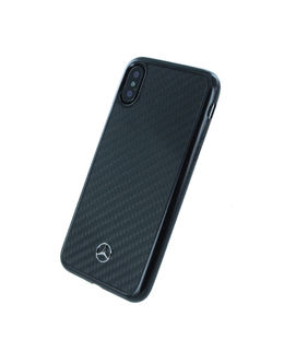 Накладка CG Mobile Mercedes Dynamic Real Carbon Hard iPhone X/XS (Цвет: Black)