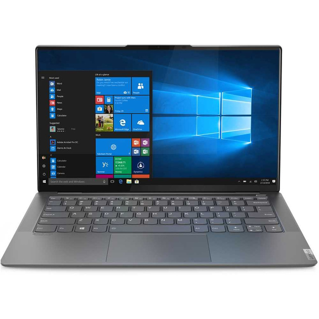 Ноутбук Lenovo Yoga S940-14IWL Core i5 8265U/8Gb/SSD512Gb/Intel UHD Graphics 620/14/IPS/FHD (1920x1080)/Windows 10/metall/WiFi/BT/Cam