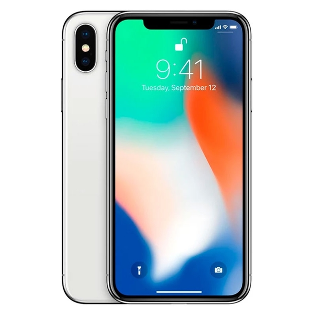 Смартфон Apple iPhone X 64Gb (Цвет: Silver) EU