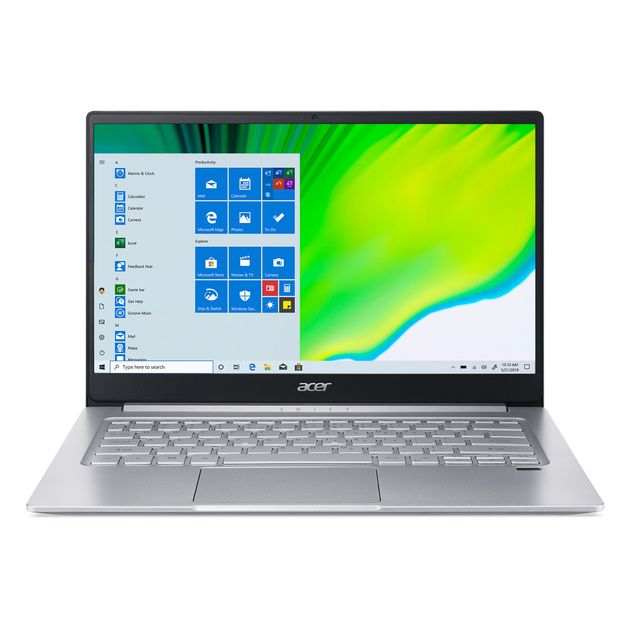 Ультрабук Acer Swift 3 SF314-42-R1AB Ryzen 5 4500U/8Gb/SSD512Gb/AMD Radeon/14/IPS/FHD (1920x1080)/Windows 10/silver/WiFi/BT/Cam