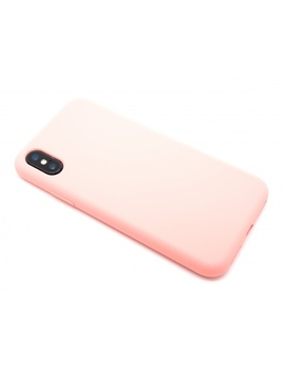 Накладка Devia Nature case Silicon Case iPhone X/XS (Цвет: Pink)