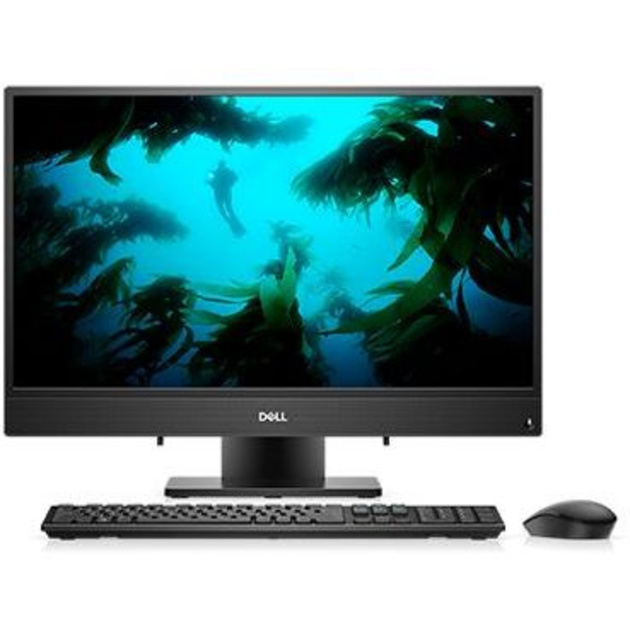 Моноблок Dell Inspiron 3480 23.8 Full HD i3 8145U (2.1)/4Gb/1Tb 5.4k/UHDG 620/CR/Linux/GbitEth/WiFi/BT/90W/клавиатура/мышь/Cam/черный 1920x1080